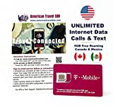 Carta SIM Prepagata per USA, Canada e Messico -...