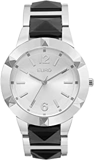 Relógio Feminino Euro Analógico Eu2035Yma/3K Prata