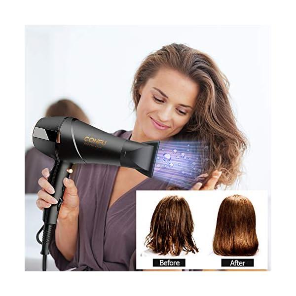 Beauty Shopping Professional Ionic Salon Hair Dryer, CONFU Powerful 1875 Watt