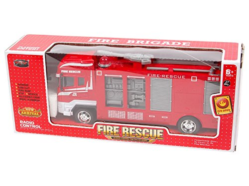 Alsino RC Feuerwehrauto 8258 ferngesteuert Kinder Feuerwehr Truck Feuerwehrwagen Rescue Fire Truck*