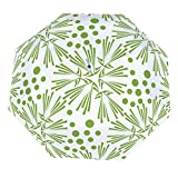 Cureably Greenery Dandelion Wallpaper Vector Image 8 Ribs Auto Open Close Windproof Parasol