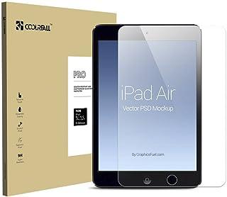 Coolreall iPad Air/Air2/Pro9.7インチ用 液晶保護 強化ガラスフィルム 透明クリア【日本産素材 ゴリラガラス使用】 …