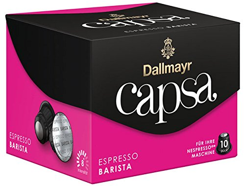 Dallmayr Capsa Espresso Barista, 10 Kaffeekapseln - 10Portionen - 6x