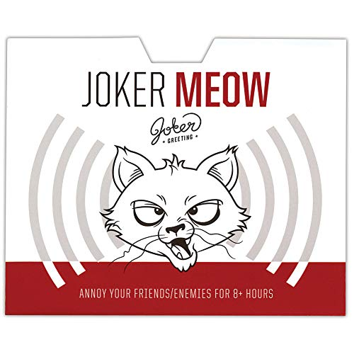 Joker Meow Prank - Hide Adhesive Card Then Watch Victim Try to Find Sound