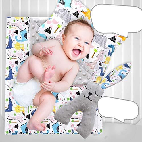 Haptian 3 Stks/set Baby Erwten Deken Slaap Comfort Poppen Pasgeboren Kinderwagen Dekens Kussen