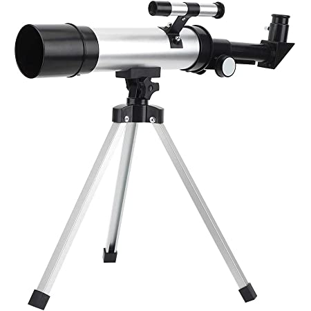 Telescopes for Children Students Astronomical Refractor Telescope 40X60 Zoom Optical High-Definition High Magnification Portable Monocular Telescopes for Adults and Kids