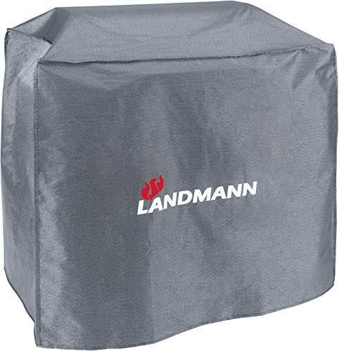 Landmann Premium Wetterschutzhaube | Aus robustem Polyestergewebe & Wasserdicht | UV-beständig, Atmungsaktiv & Kältebeständig | Geeignet für den Avalon PTS 5.0 [75 x 150 x 120 cm]