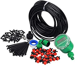 Drip Irrigation Auto Timer Self Plant Watering Garden Hose Durable - 25 meters