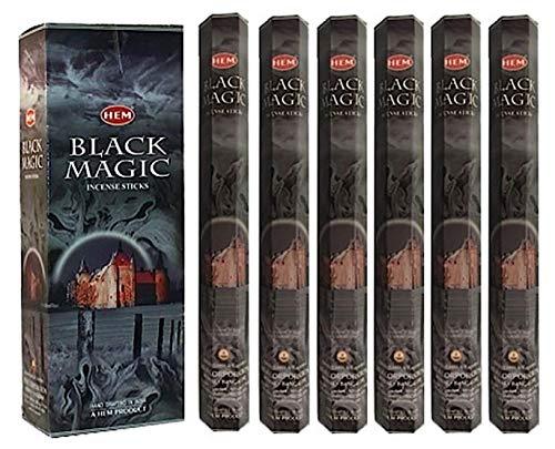HEM Black Magic 100 Incense Sticks (5 x 20 stick packs)