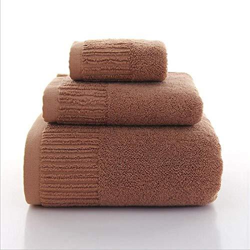 DOROCH 11 Colores 3 Piezas Toallas de baño Toalla de algodón Gruesas Conjunto de Toallas de Cara Toalla de baño for Adultos Toallitas de Lavado de Adultos Toalla de baño Alta Absorbente