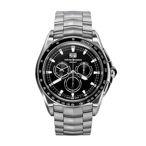 Emporio Armani Reloj para Hombre de Cuarzo con Correa en Acero Inoxidable ARS9100