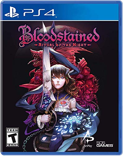 Bloodstained: Ritual of the Night - PlayStation 4 Castlevania Symphony Of The Night Playstation
