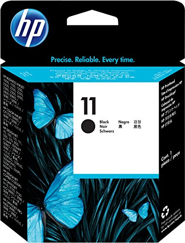 HP 11 C4810A, Negro, Cabezal Original, para impresoras HP Business InkJet serie 1000, 2000, OfficeJet serie 9100, K850; DesignJet serie PS, 100, 500; Color Ink serie CP 1000; Tecnología Photoret III