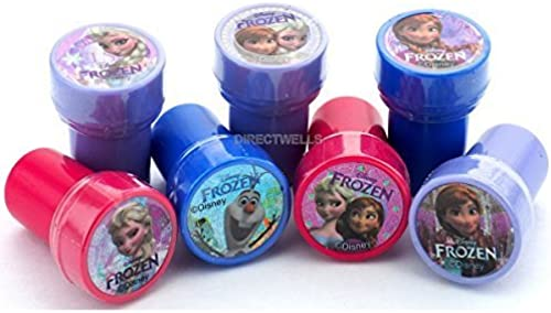 Disney Frozen Stampers Party Favors Assorted Beautiful Designs (10 Stampers) by Disney Frozen