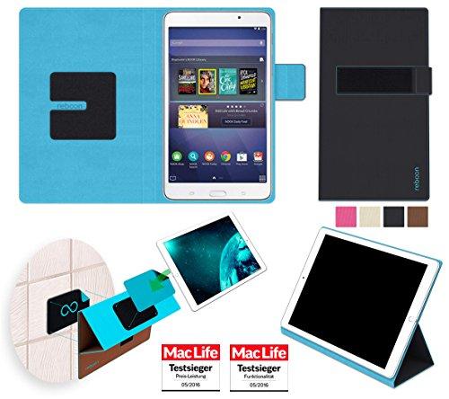 reboon booncover Tablet Hülle | u.a. für Google Nexus 7, HP Slate 7 | schwarz Gr. S2 | Tablet Tasche, Standfunktion, Kfz Tablet Halterung und mehr