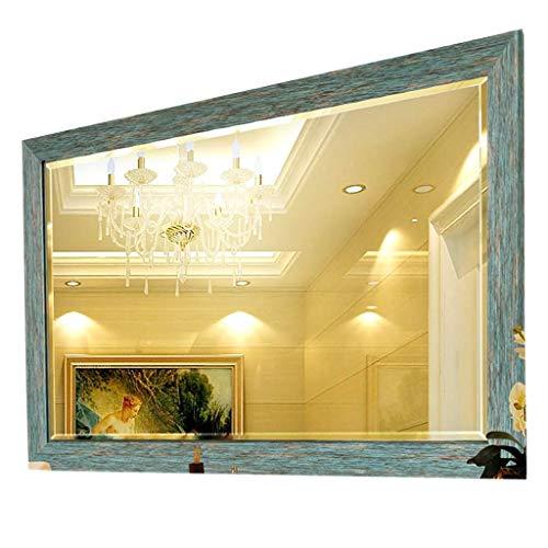 Household Badkamerspiegel met vierkante stijl, voor het ophangen, voor thuis, HD, badkamer, wandmontage, dikke spiegel