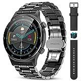 LIGE Smartwatch Reloj Inteligente Hombre,1,32''HD Pantalla Táctil , Monitorización de Frecuencia...