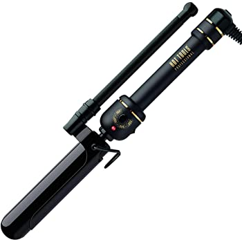 Hot Tools Professional Black Gold Marcel Iron/Wand for Long Lasting Curls, 1 1/4 Inches
