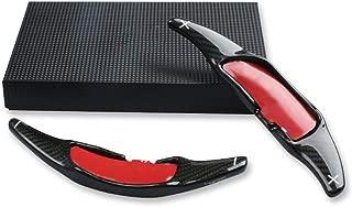 Topsmart Carbon Fiber Car Steering Wheel Shift Blade Paddle Shifter Extension For Benz AMG (Black)