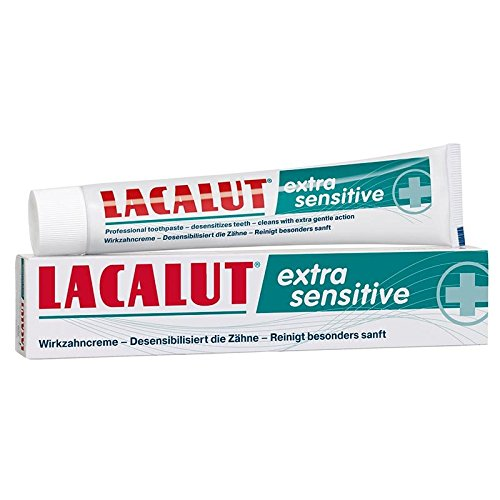 Lacalut extra sensitive Zahnpasta 75ml 3er Pack (3x 75ml)