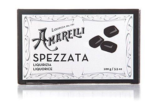 Amarelli Regaliz - Spezzata - Regaliz Puro Sin Aromas En