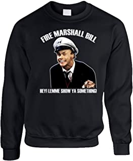 in Living Color Fire Marshall Bill Funny Crewneck Sweatshirt T Shirt