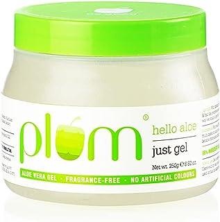 Plum Hello Aloe Just Gel | For All Skin & Hair Types | Multi-purpose Aloe Vera gel | 100% Vegan | 100% Fragrance Free | 25...