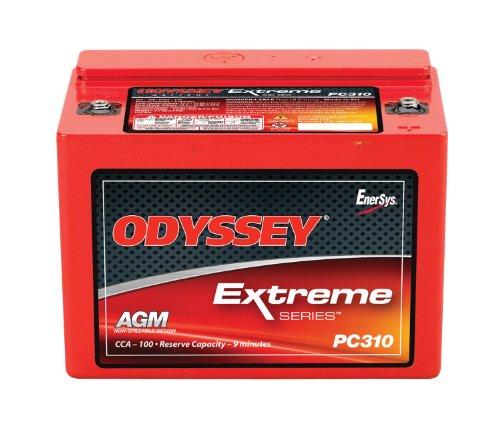 Odyssey Hawker AGM PC310 - 12 V / 8 Ah Reinblei Akku Batterie Motorradbatterie