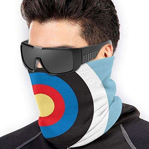 Bonsoo Bulls Eye Right On Target Roundel Archery Mod Hit On Blue Protective Scarf Magic Scarf Outdoor Shield Hearwear Windproof Neck Gaiter UV Protection