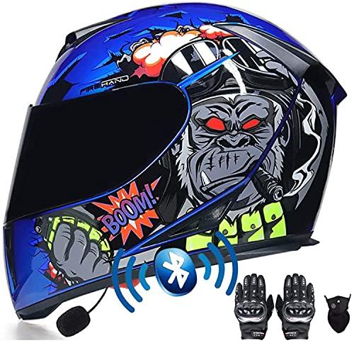 Casco De Motocicleta Modular Casco De Motocicleta Integral De Motocross Casco De Motocicleta Modular Aprobado Por ECE Casco De Motocicleta Para Hombre H,S