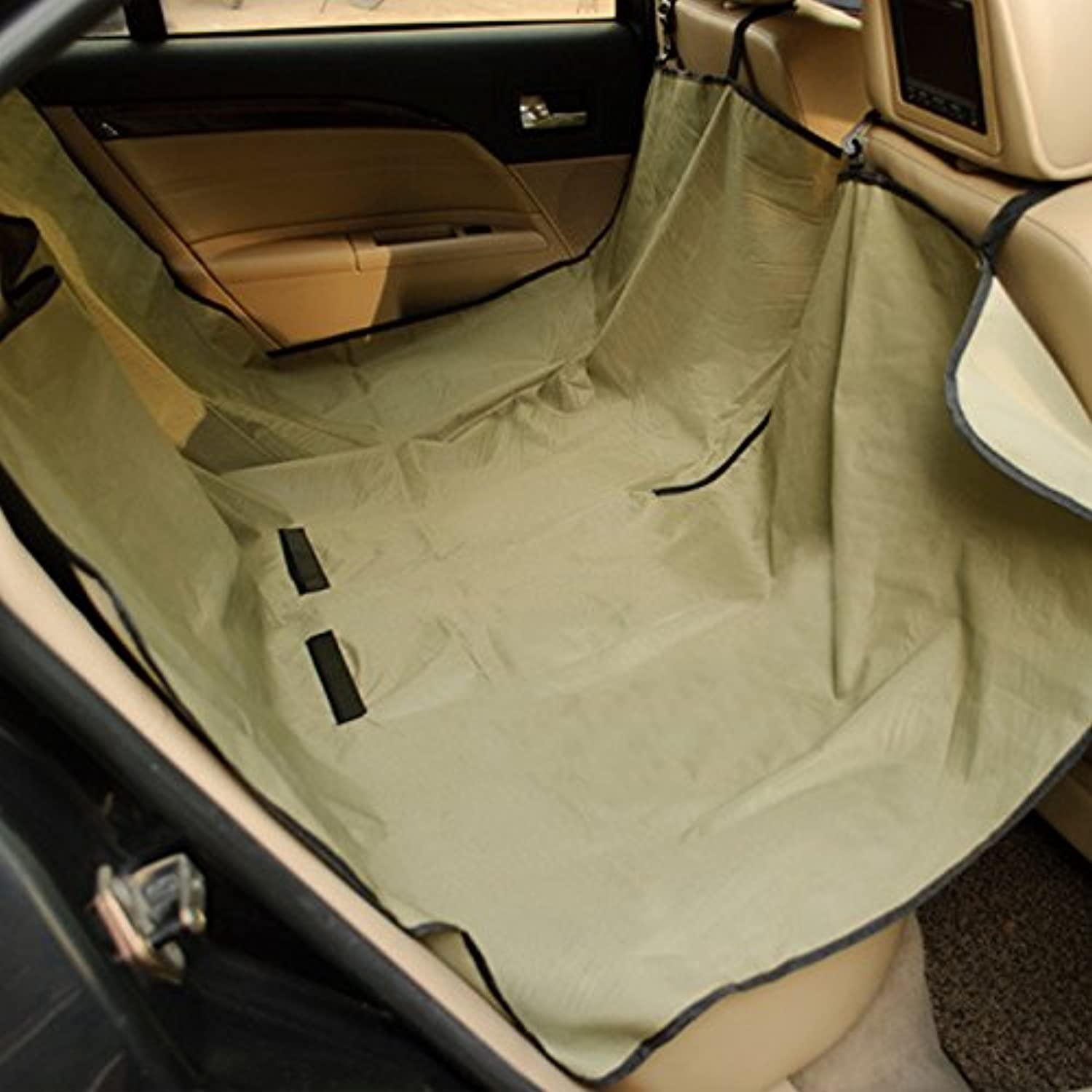 365Cor(TM) Waterproof Dog Car Seat Cover Oxford Pet Backseat Cover SUV Seat Predector Travel Hammock