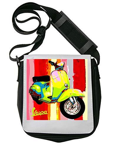 Vespa Art Pop Culture Schultertasche Herren Umhängetaschen Damen Taschen Unisex Shoulder Bag