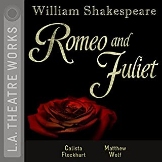 Romeo and Juliet (Dramatized) audiobook cover art