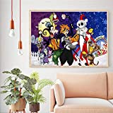 UHvEZ 1000 Piece Wooden Puzzle Kingdom Hearts Cartoon Puzzle Toy Adult Game Family Wall Decoration 50x75cm