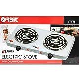 WGC Electric Stove Dual 2 Burner Hot Plate Countertop Warmer