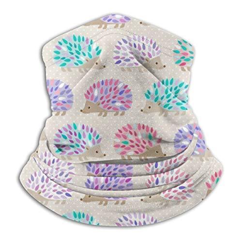 Bandanas Face Mask Headband Dust-Free Face Scarf Cover Neck Warmer for UV Protection, Cycling, Running, Men Women (Hedgehog Polkadot Oven Mitts Balaclava)