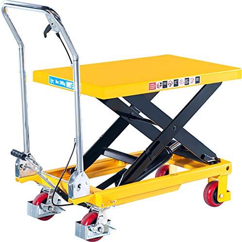 Loadsurfer 300kg Mobile Scissor Lift Hydraulic Lifting Platform Table Trolley Cart Truck