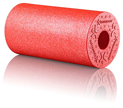 BODYMATE Faszienrolle Standard Mittel-Hart mit Gratis E-Book - Pepper-Red 30x15cm