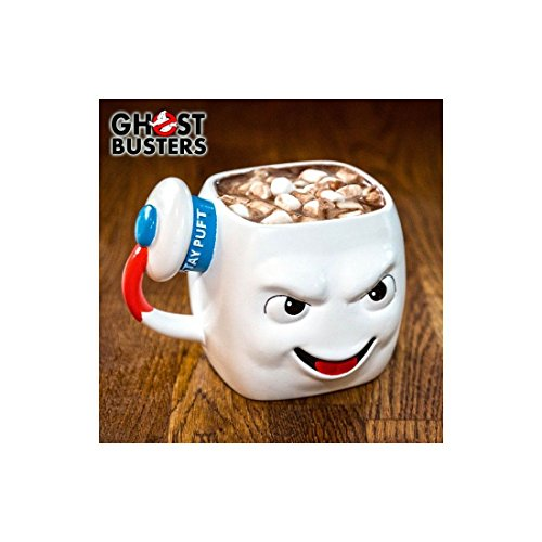 Ghostbusters Tasse Marshmallow Man weiß