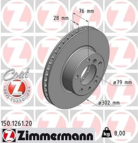 Zimmermann 150126120 Disc Sale SALE% OFF Brake Rotor 55% OFF