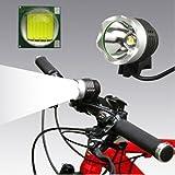1200 Lumen Rechargeable Waterproof Head Torch Bike Light Bicycle Led Flashlight
