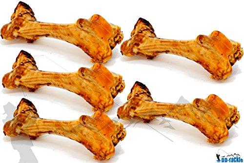 DD-Tackle 5 XXL Rinderknochen 45-60cm Naturknochen Jumbo Rinder Kau Knochen Schinkenknochen Bein