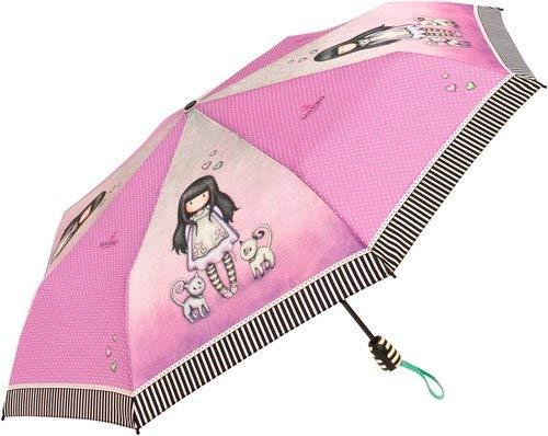 Santoro-London Paraguas Plegable automatico Tall Tails Gorjuss Surtido 54cm
