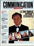 COMMUNICATION [No 76] du 25/04/1988 - LA CINQ EMERGE - ANTENNE 2 S'ESSOUFFLE - G. DURAND - DOSSIER CENTRALES D'ACHAT - CANAL PLUS ET TELE 7 JOURS INVENTENT LA TELE A ODEUR - CAFE - SAN MARCO S'ENGOUFFRE DANS LA BRECHE - LES PARFUMEURS SE LIGUENT