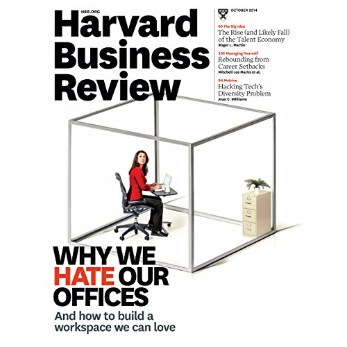 Harvard Business Review, October 2014 audiobook cover art