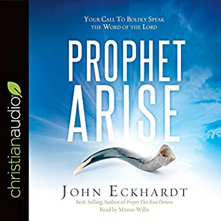 Prophet, Arise audiobook cover art