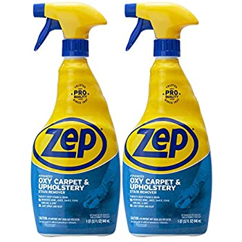 Zep Advanced Oxy Carpet Cleaner 32 Ounce ZUOXSR32  Pack of 2  Great for Upholstery Carpet & Laundry