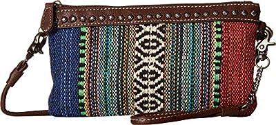 M&F Western Savannah Crossbody Belt Bag Serape/Brown One Size