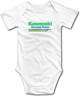 Ioagdaazz Kawasaki Racing Team Lovely Baby Onesies for Baby White 18M