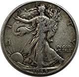 1944 D Walking Liberty Half Dollar 50c Very...